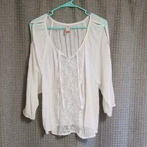 Tops - BOHO 3/4 open sleeve blouse